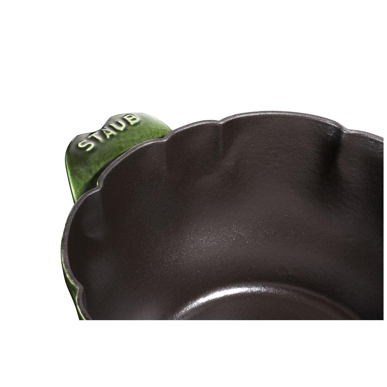 3 l Cast iron artichoke Cocotte, Basil-Green,,large 3