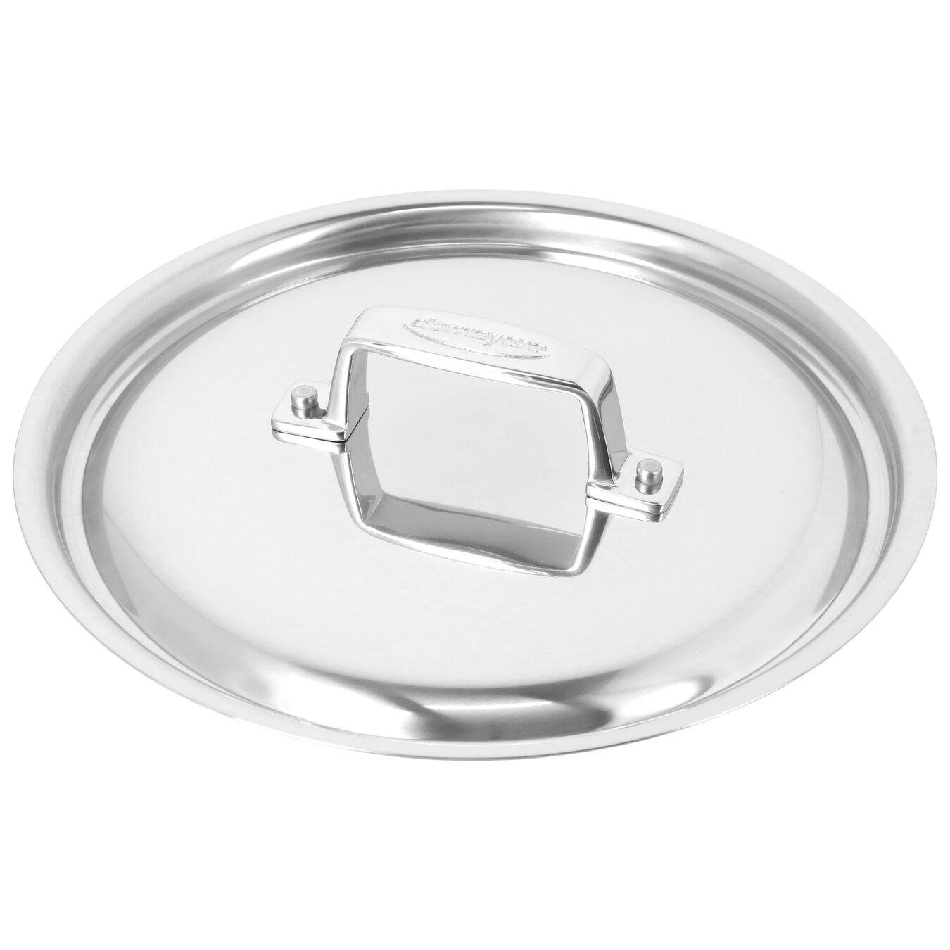 3.8 l round sauce pan with lid 4QT, silver,,large 7
