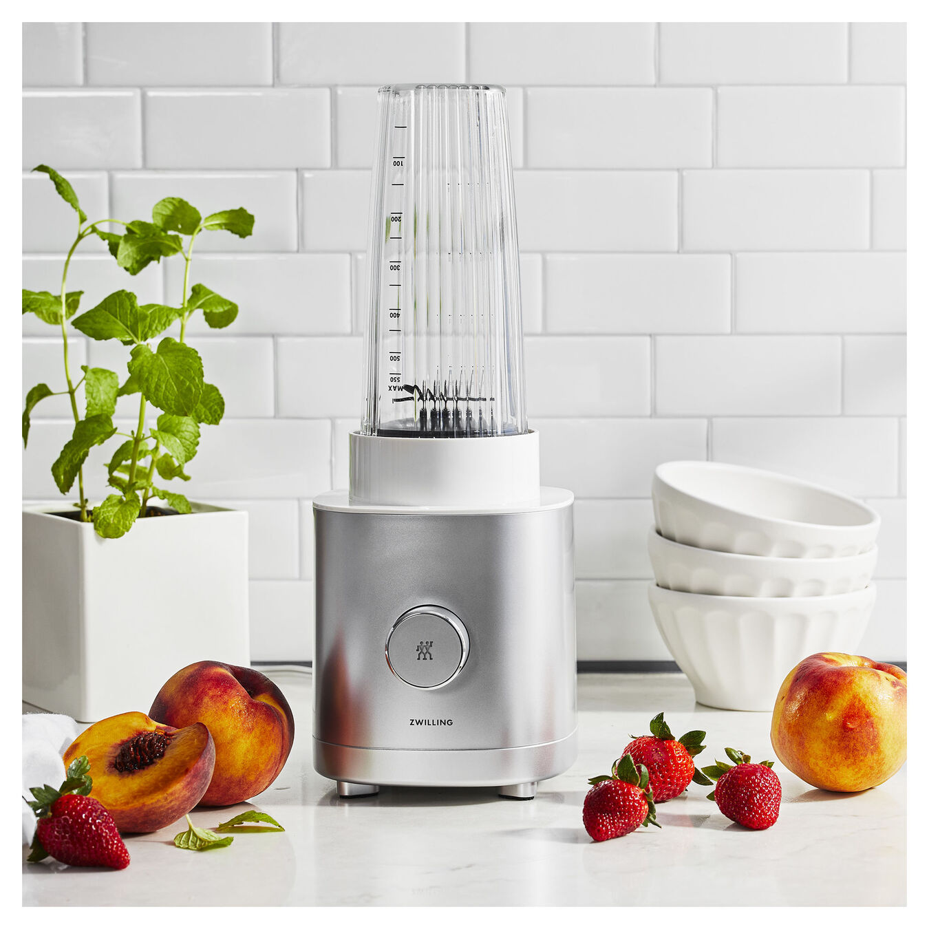 Personal blender, AC Motor | Silver | US/CA,,large 8