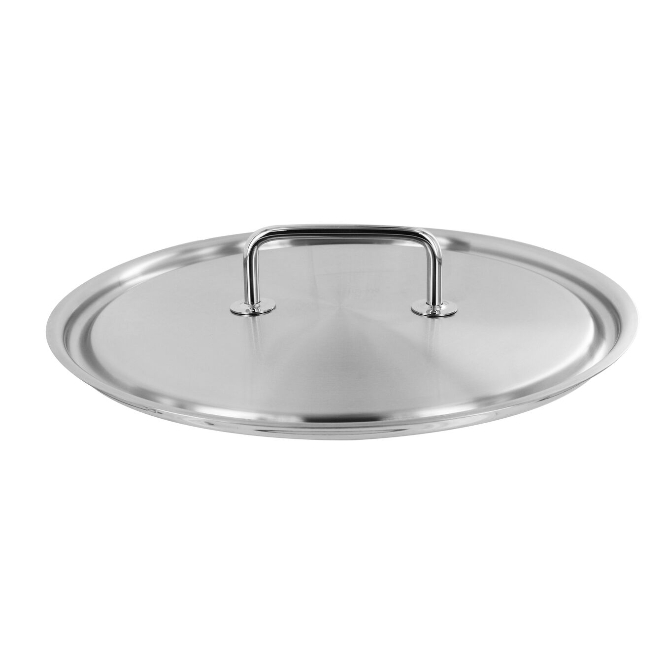 Lid, 0,5 cm | round | 18/10 Stainless Steel,,large 1