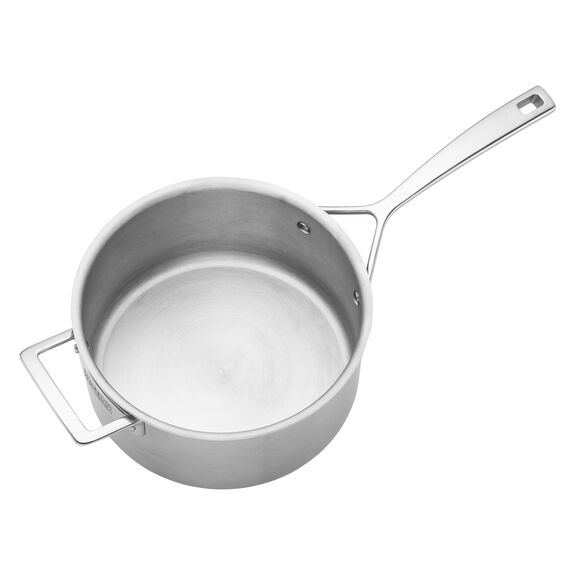 Stainless Steel 4-Qt. Saucepan,,large