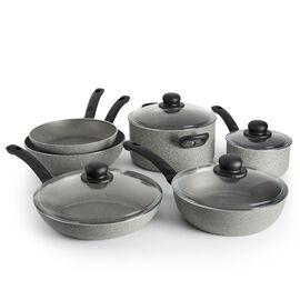 BALLARINI Asti, 10-pcs Aluminum Ensemble de casseroles et poêles