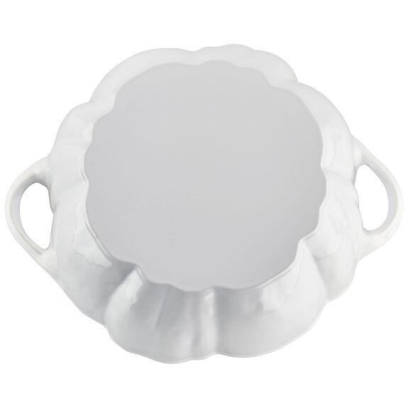 3.5-qt Pumpkin Cocotte - White,,large 9