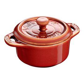 Staub Ceramique, Mini cocotte rotonda - 10 cm, rame antico
