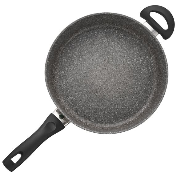 3.8-qt Forged Aluminum Nonstick Saute Pan with Lid, , large 2