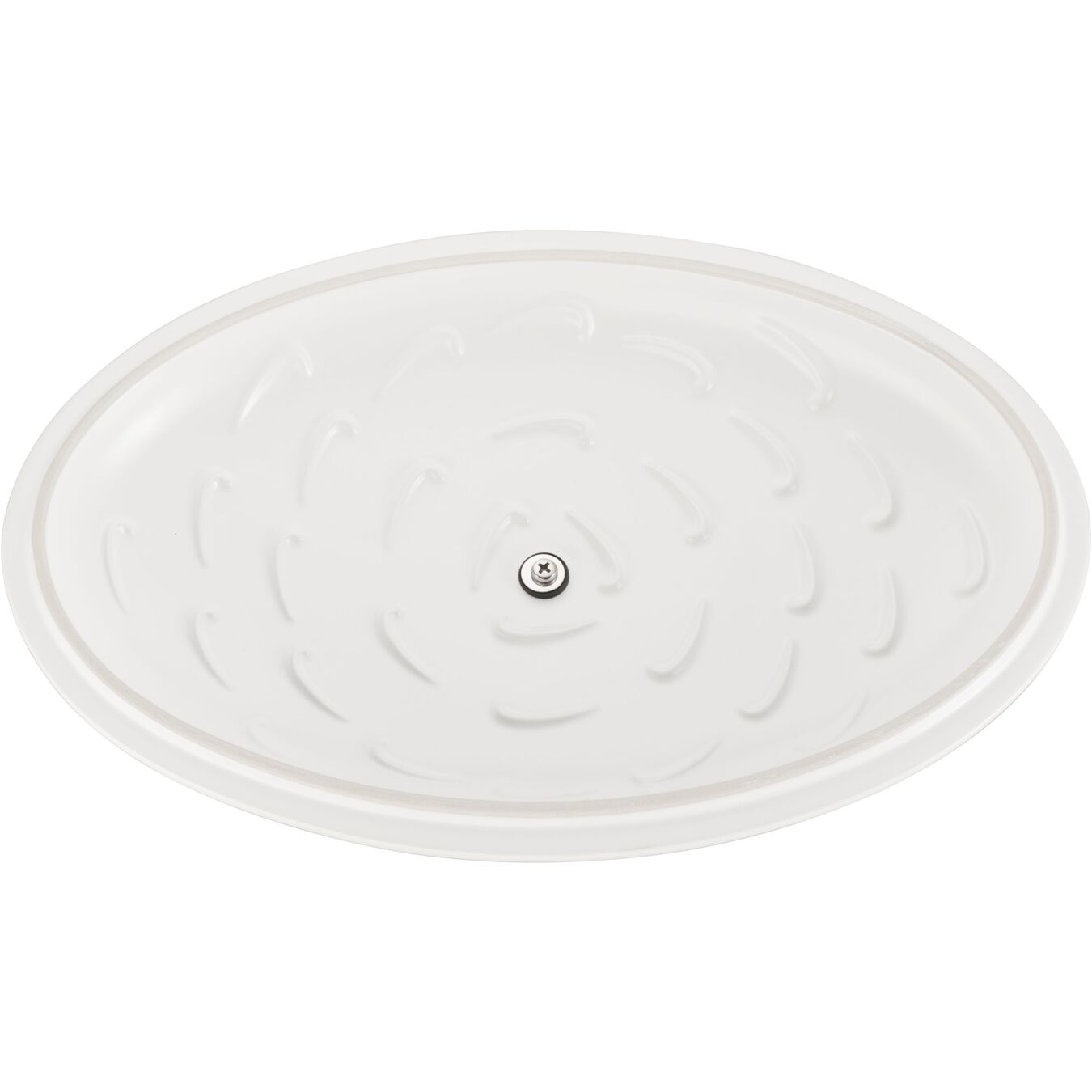 Special shape bakeware, matte white,,large 4