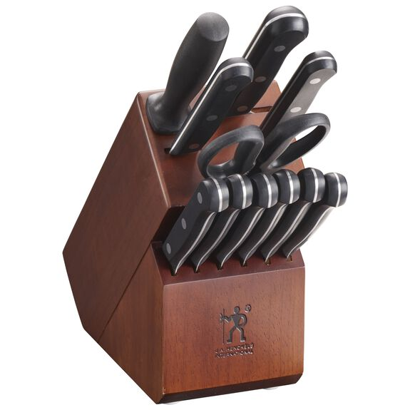 12-pc Knife block set ,,large 2