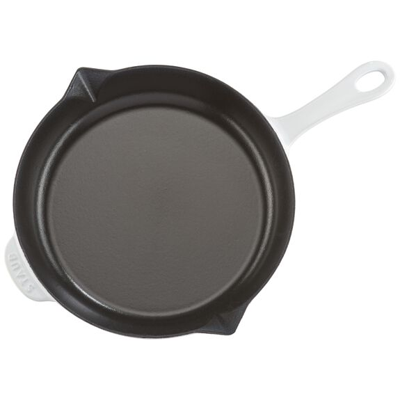10-inch Fry Pan - White,,large 6