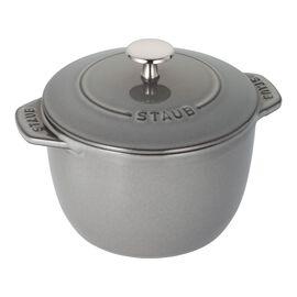 Staub Cast Iron, 1.5-qt Petite French Oven - Graphite Grey