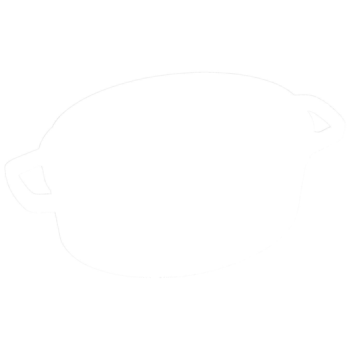 Cocotte 29 cm, Ovale, Cannelle, Fonte,,large 1