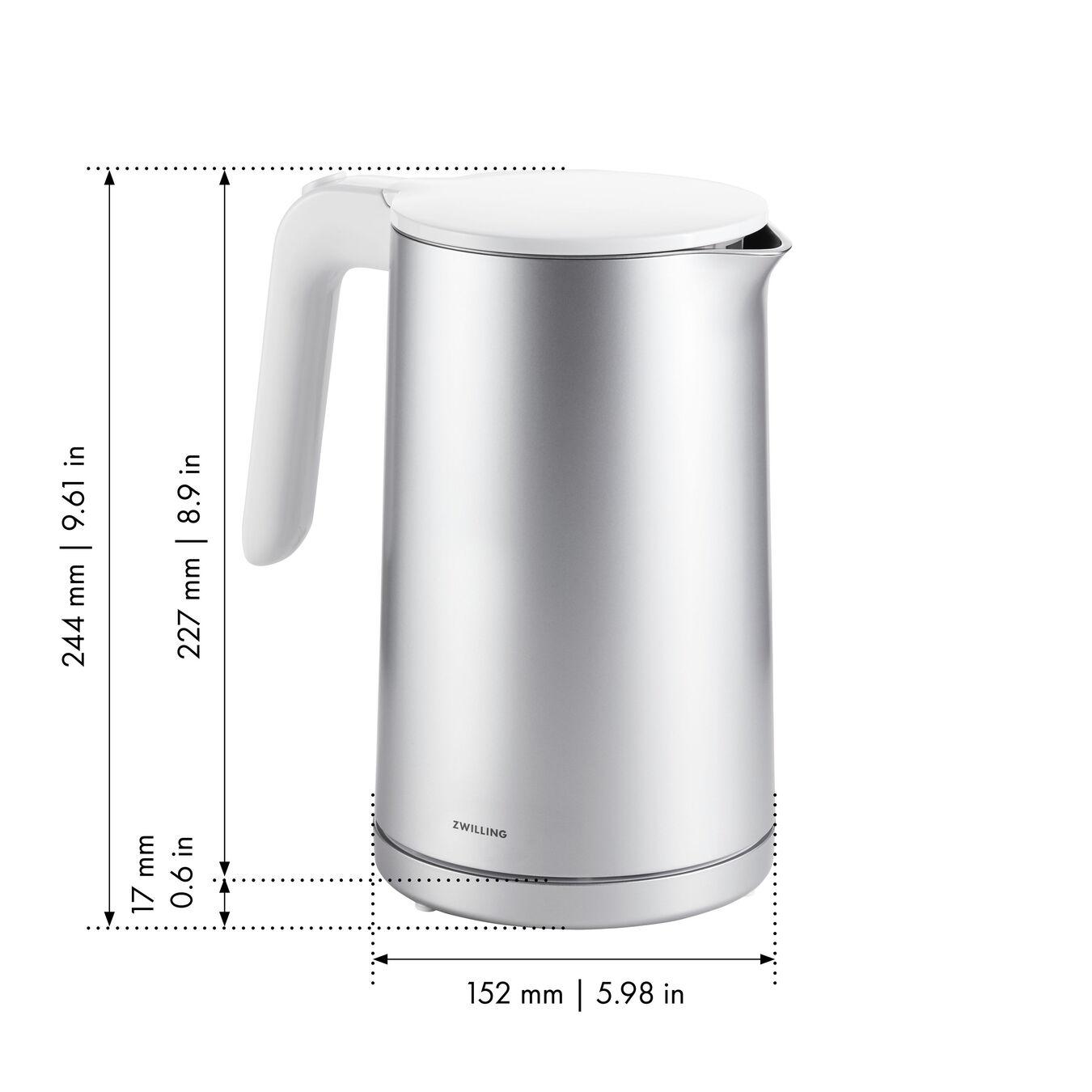 Wasserkocher, 1,5 l, Silber,,large 7