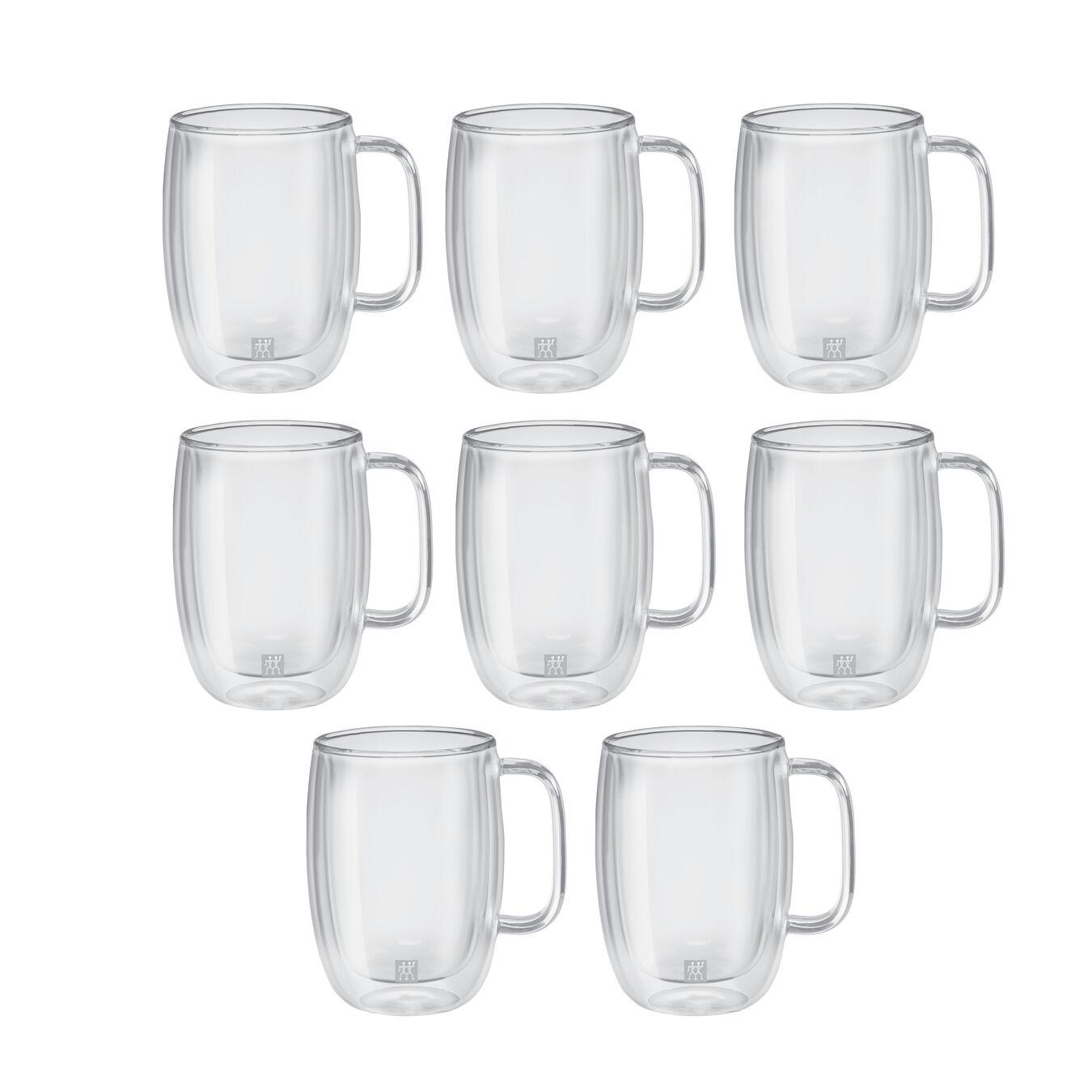 8 Piece Latte Mug Set - Value Pack,,large 1