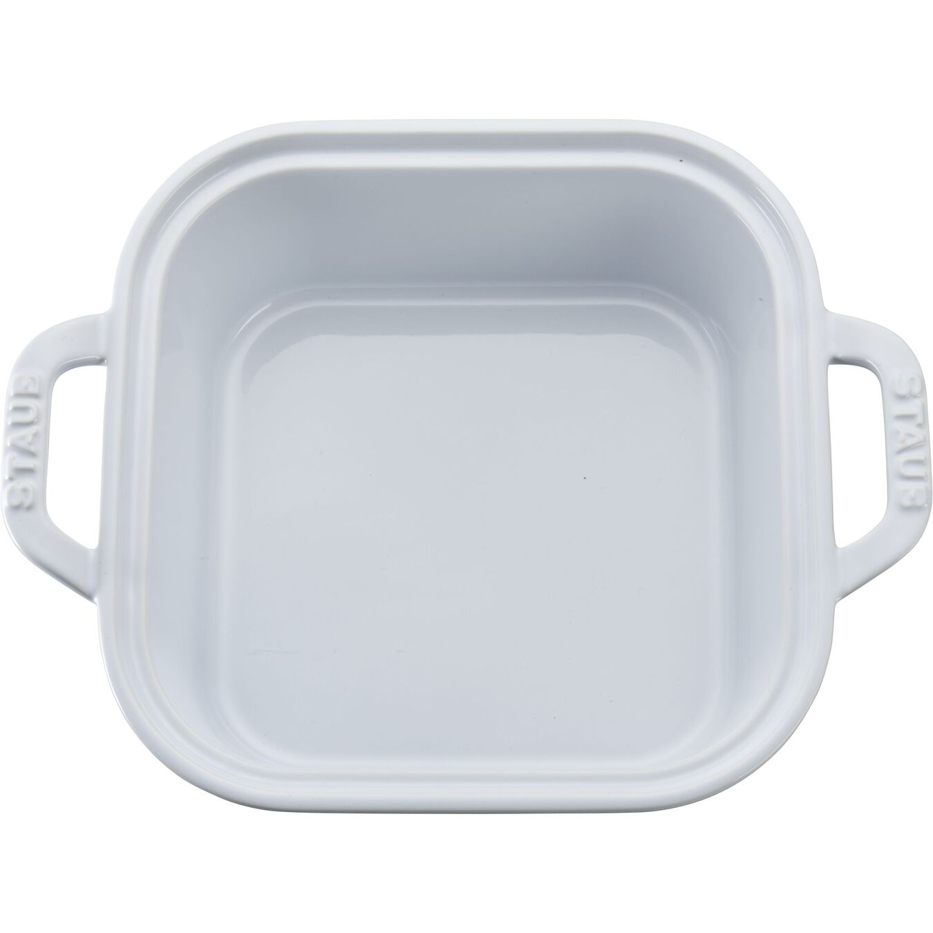 9-inch, square, Covered Baking Dish, white,,large 6