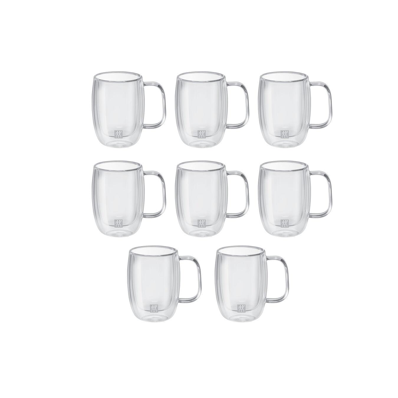 8 Piece Double Espresso Mug Set - Value Pack,,large 1