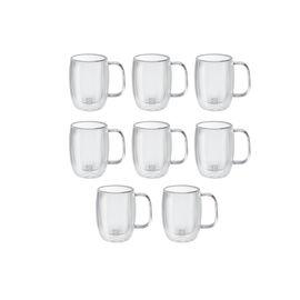 ZWILLING Sorrento Plus, 8 Piece Double Espresso Mug Set - Value Pack