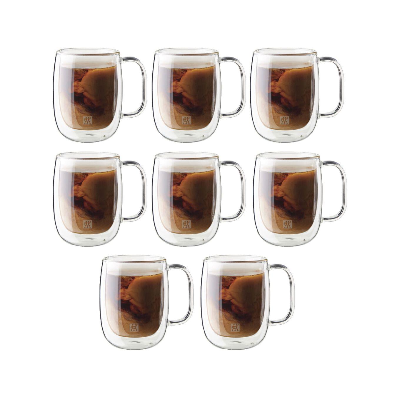 8-pcs Service de verres à café,,large 1