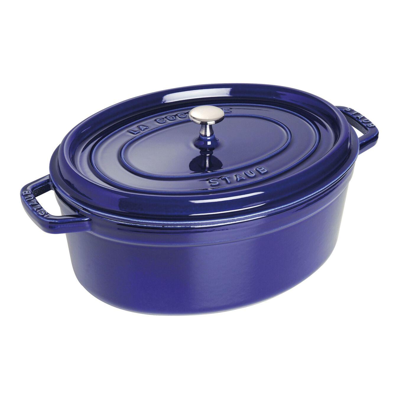7-qt, oval, Cocotte, dark blue,,large 1