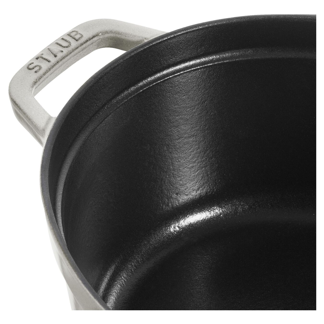 3,25 l Cast iron oval Faitout, White Truffle,,large 2