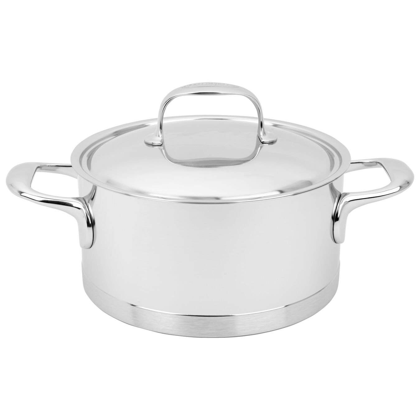 3 l 18/10 Stainless Steel Faitout with lid,,large 1