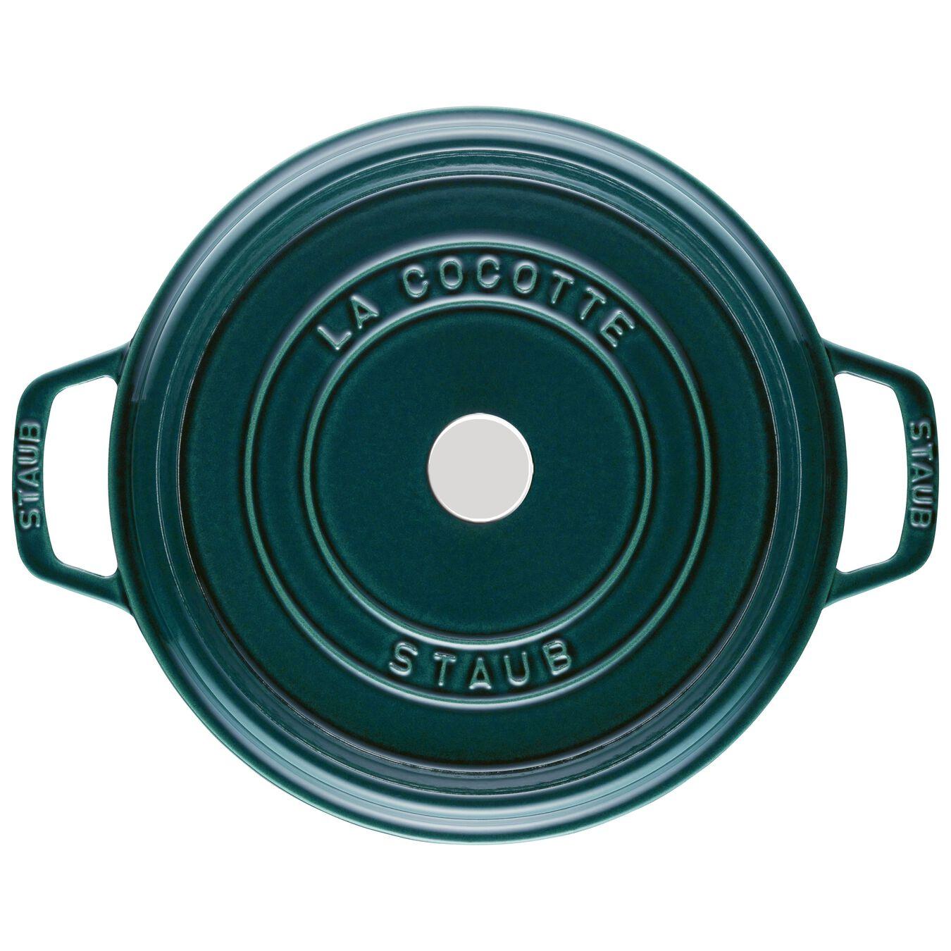 Cocotte 28 cm, rund, La-Mer, Gusseisen,,large 3
