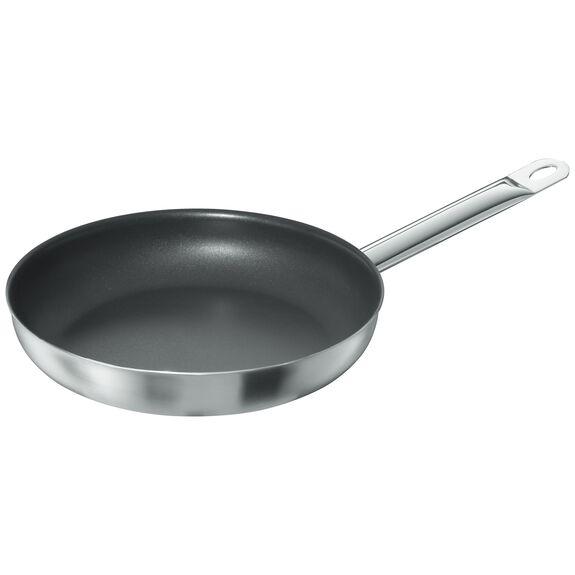 Kızartma Tavası, 28 cm | PTFE | Gümüş-Siyah | Yuvarlak,,large
