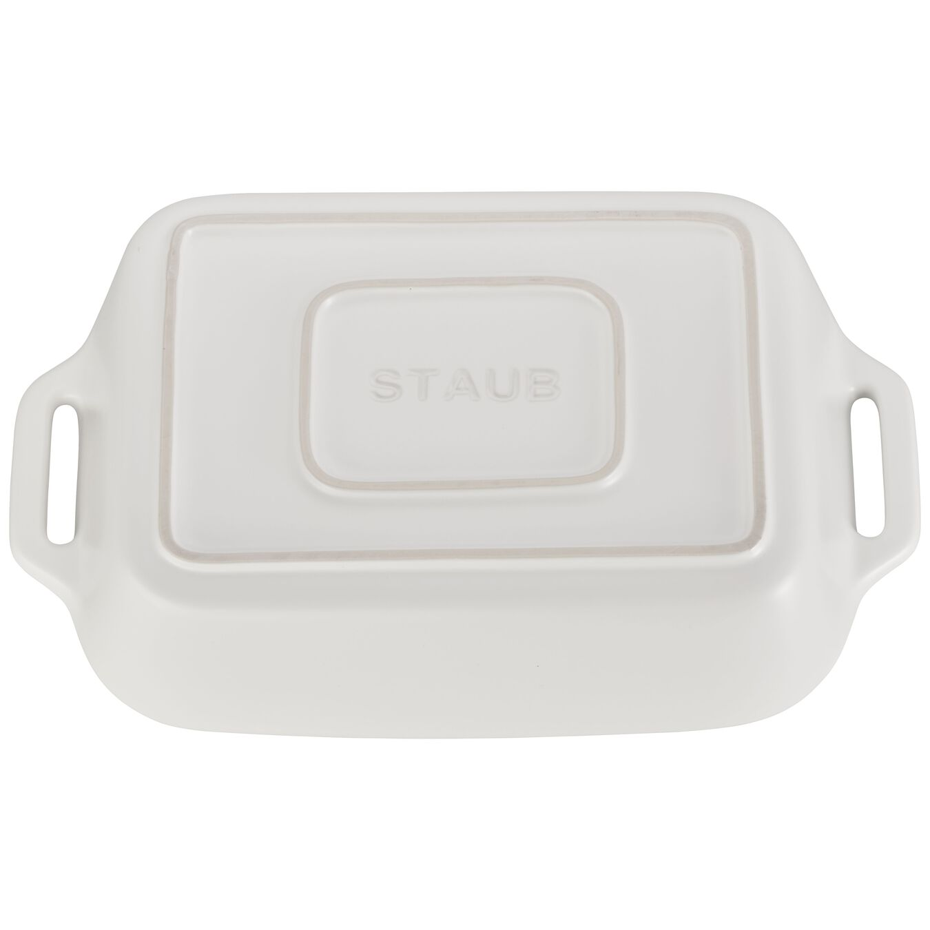 2-pc Rectangular Baking Dish Set - Matte White,,large 2