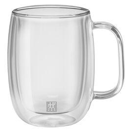 ZWILLING SORRENTO PLUS, Çift Camlı Kulplu Kahve bardağı seti, 2'li