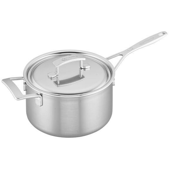 4-qt Stainless Steel Saucepan,,large