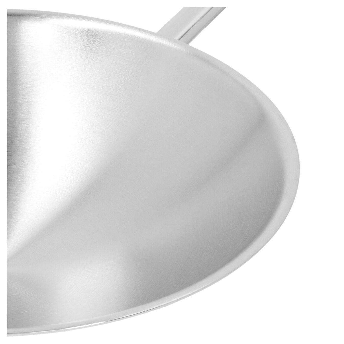 Wok fondo tondo - 36 cm, 18/10 acciaio inossidabile,,large 3