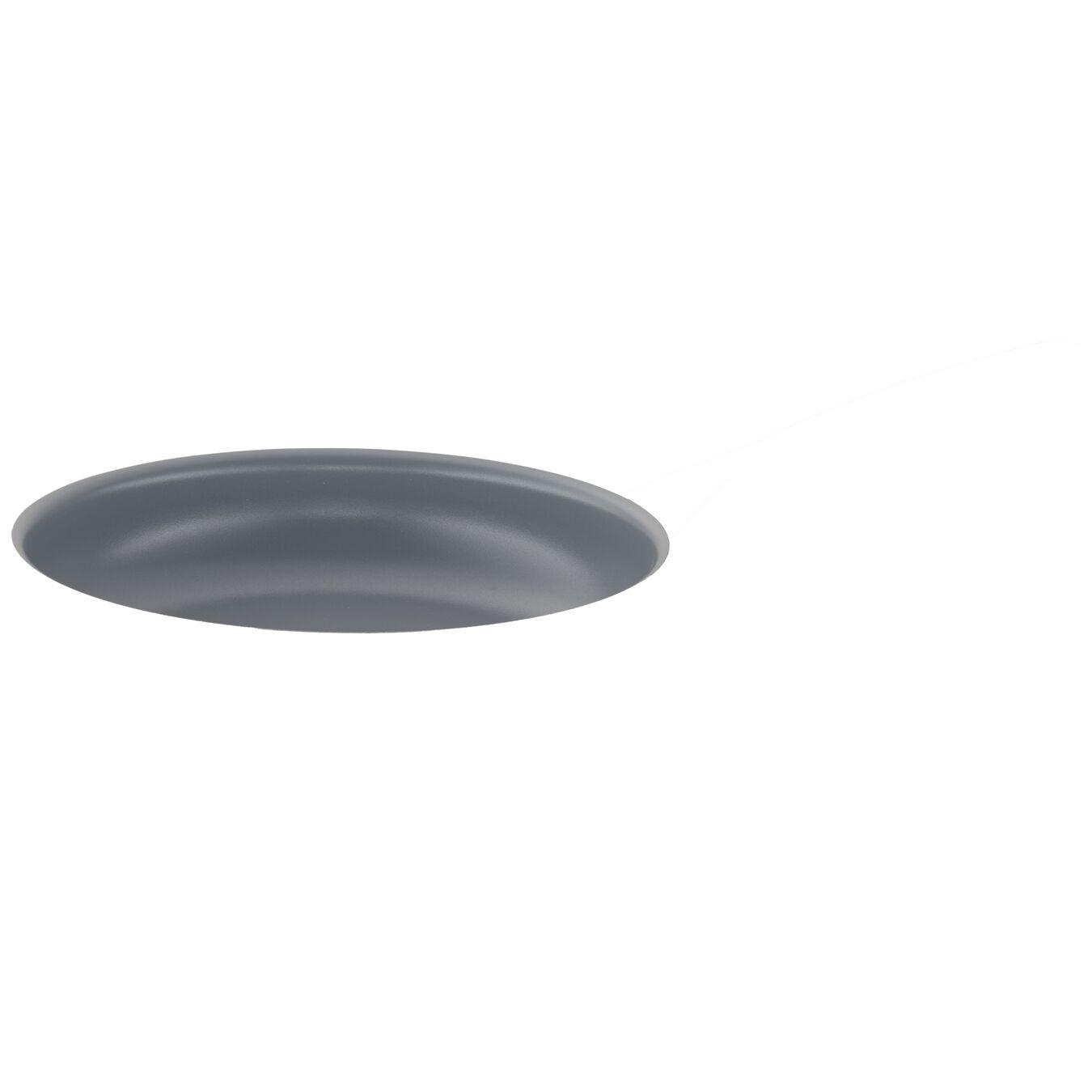 Poêle 24 cm, Inox 18/10, Argent,,large 2