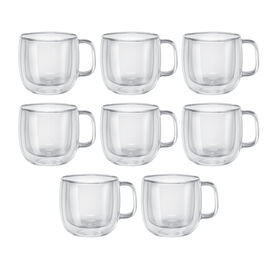 ZWILLING Sorrento Plus, 8 Piece Cappuccino Mug Set - Value Pack