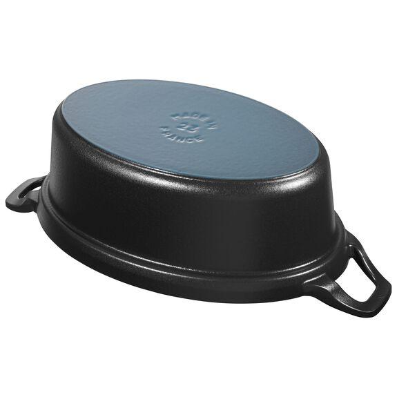 23-x-33.3-cm-/-9-x-13.11-inch oval La Coquette, Black,,large 2