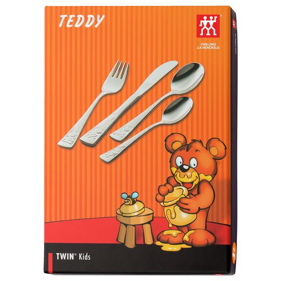 4-pcs  Children's flatware set Teddy,,large 7