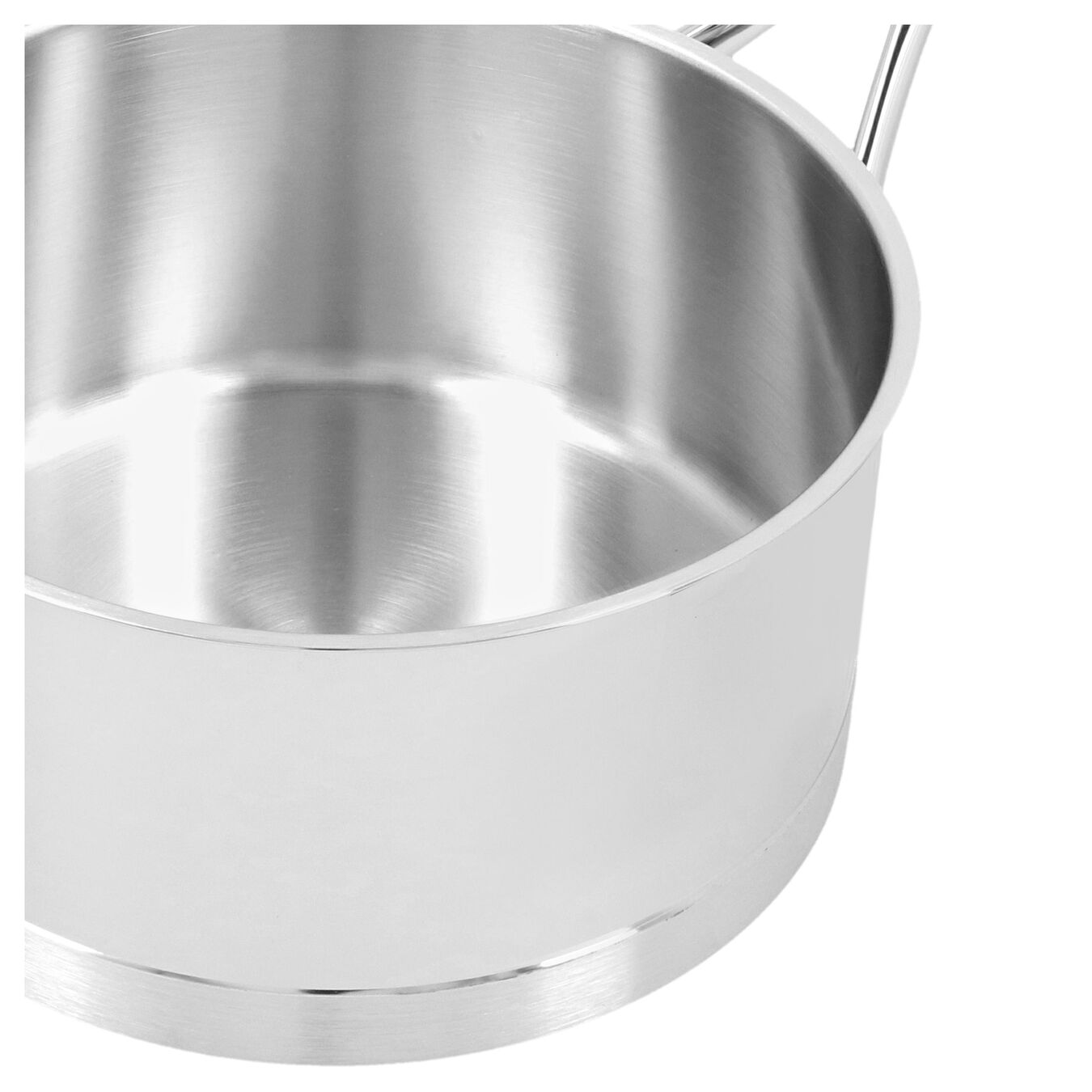 2.25 qt Sauce pan with lid, 18/10 Stainless Steel ,,large 6