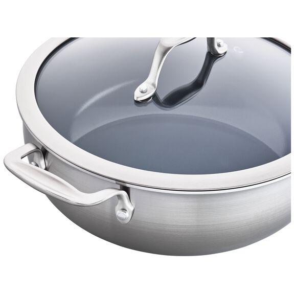 4.6-qt Ceramic Nonstick Perfect Pan, , large 3