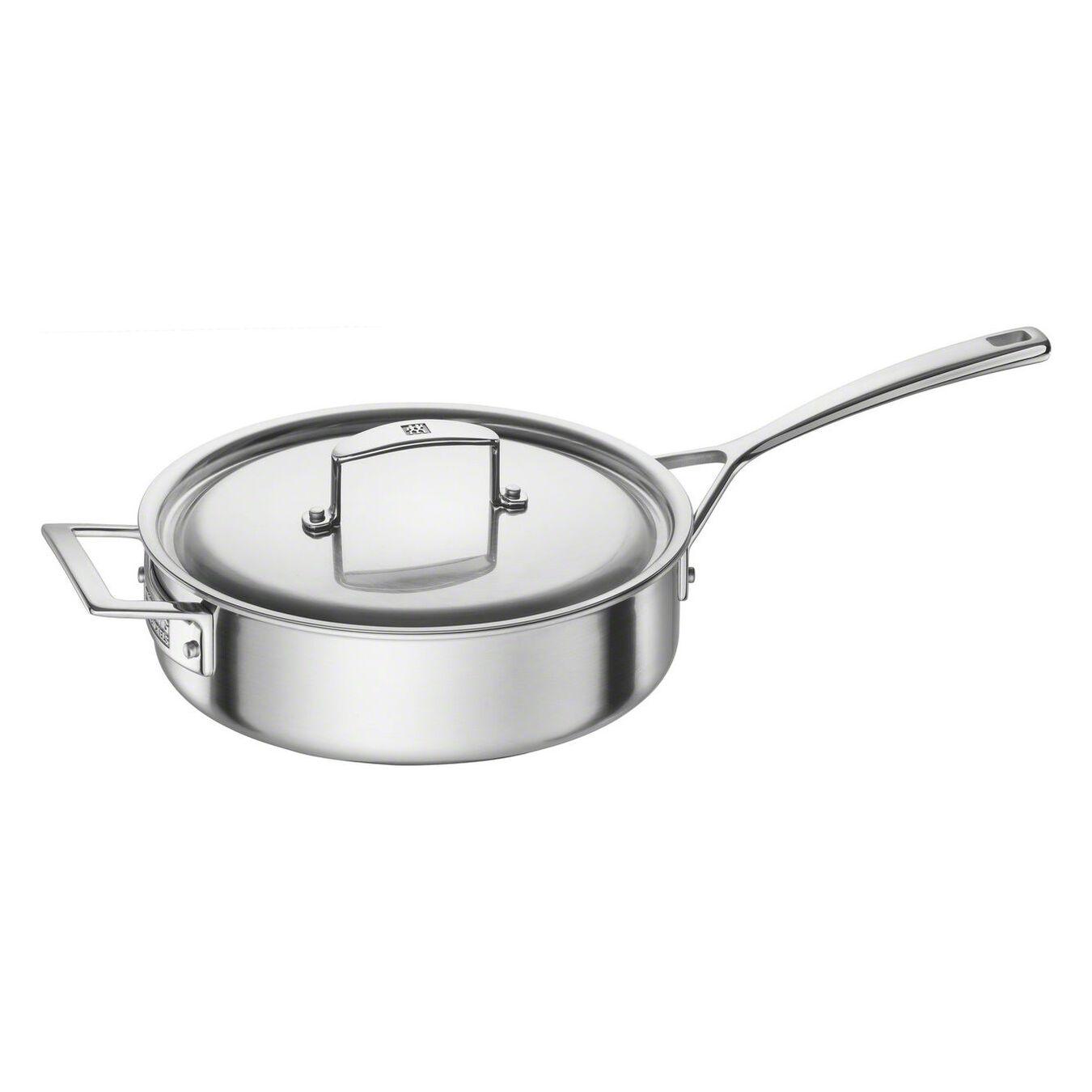 10-pcs 18/10 Stainless Steel Ensemble de casseroles et poêles,,large 6