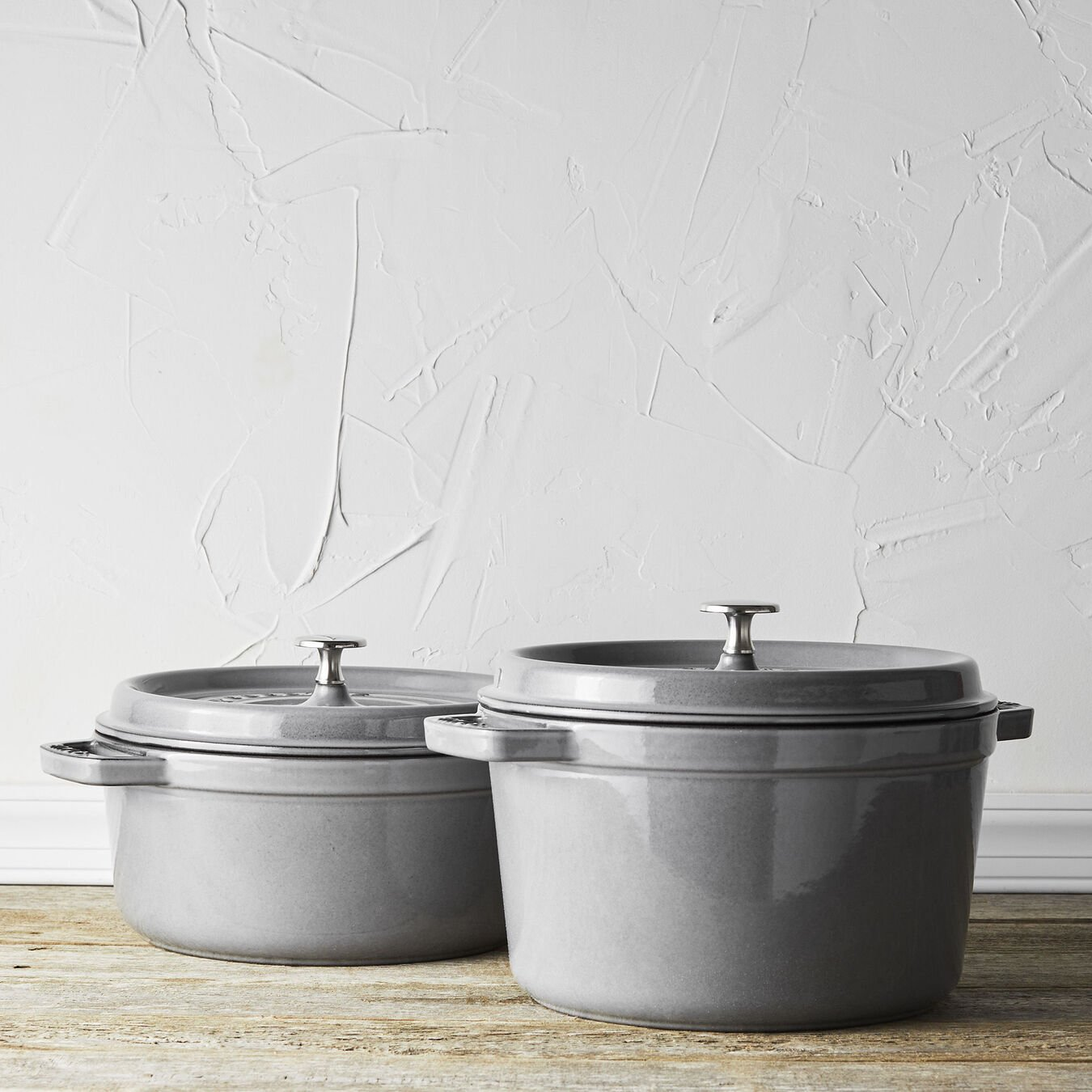5 qt, round, Cocotte, graphite grey - Visual Imperfections,,large 7