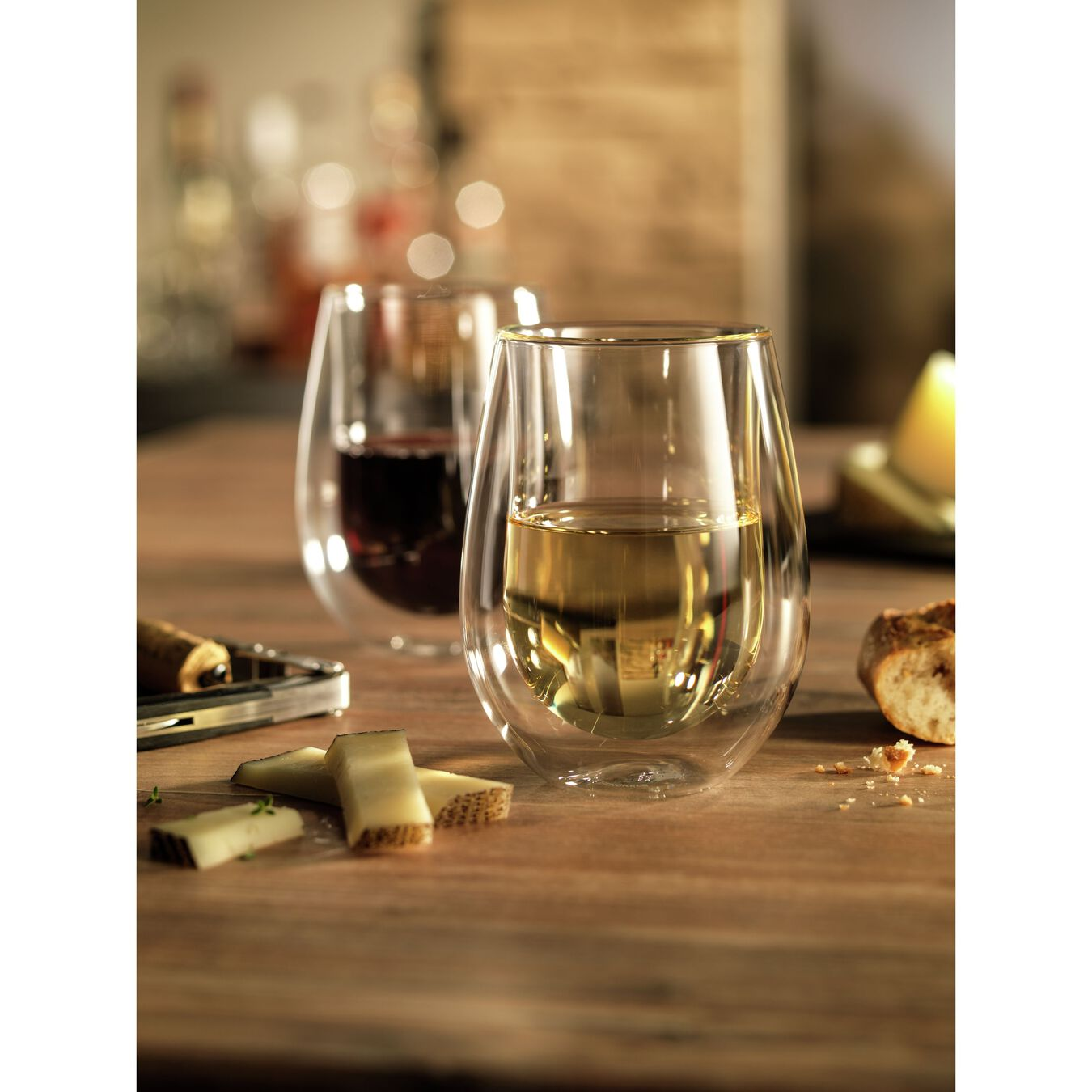 Double wall glas Sommelier set,,large 2