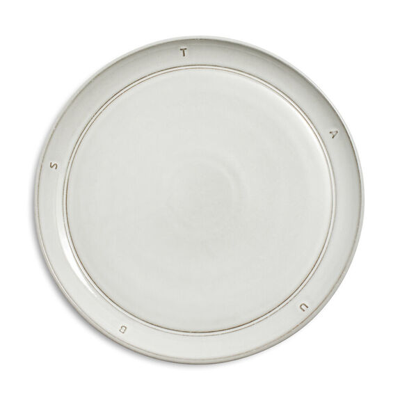"8.5-inch Ceramic Salad Plate 22cm / 8.6"" - Off White,,large"