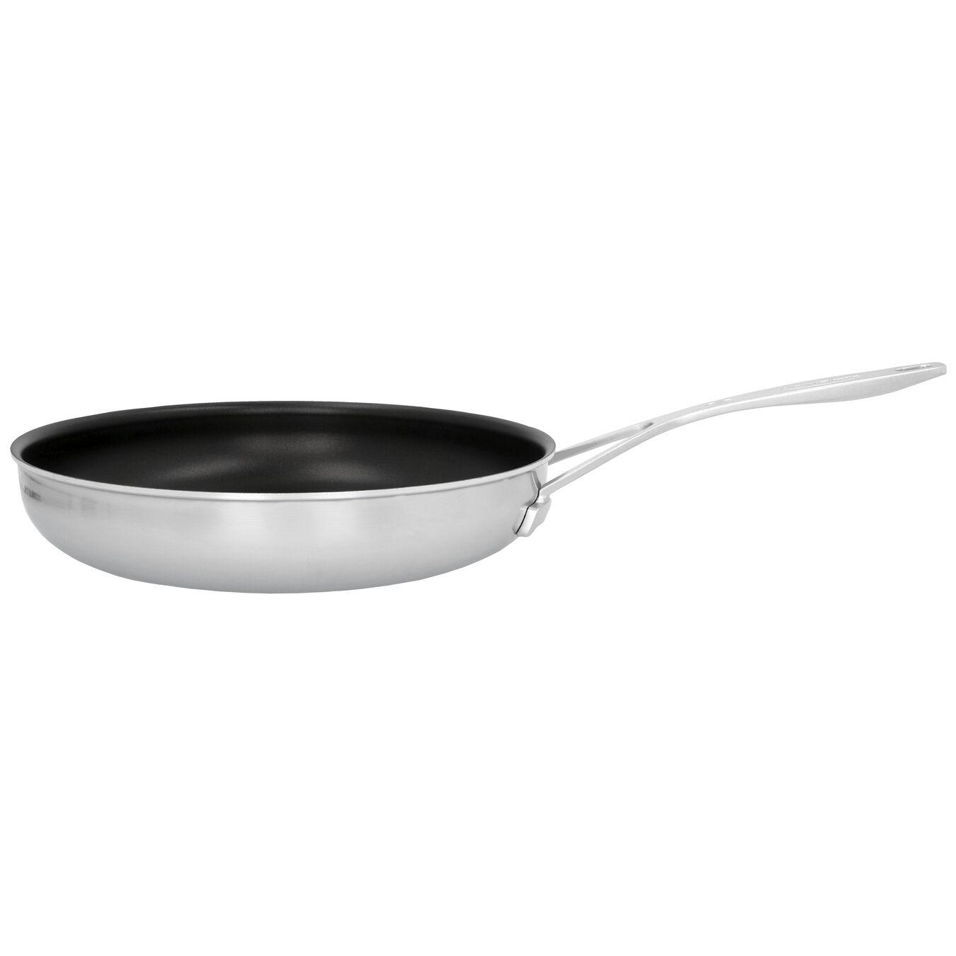 Poêle 28 cm, Inox 18/10, Noir argenté,,large 1