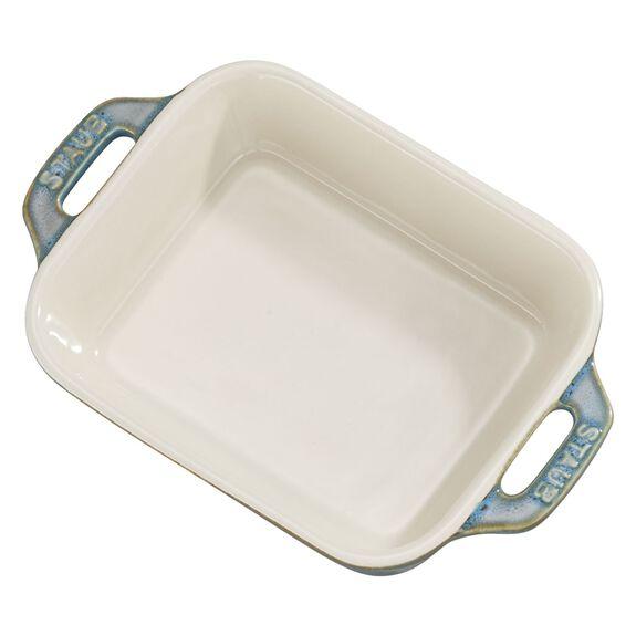 5.5-inch x 4-inch Rectangular Baking Dish - White,,large 2