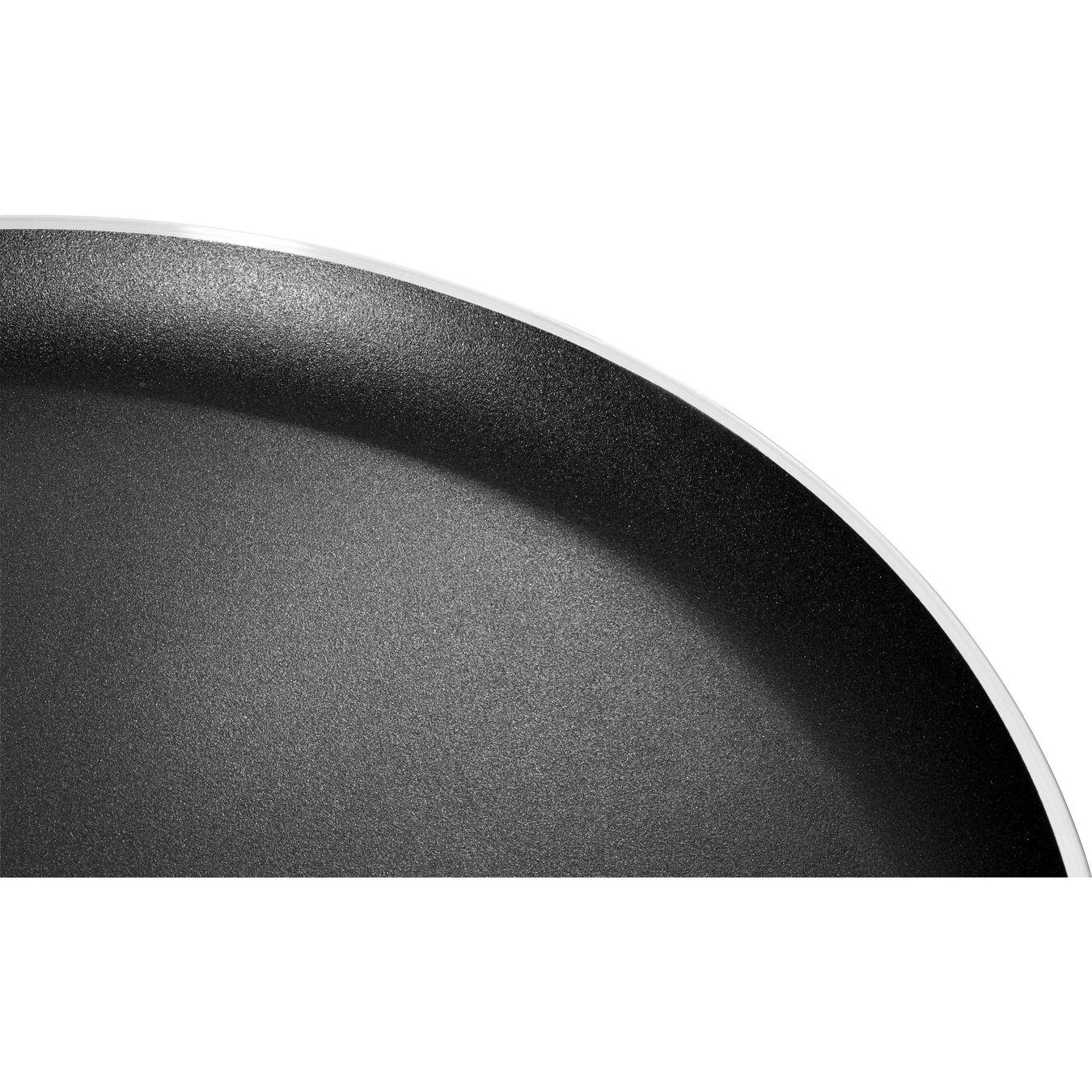 Crêpes-Pfanne 25 cm, Aluminium, Schwarz,,large 6