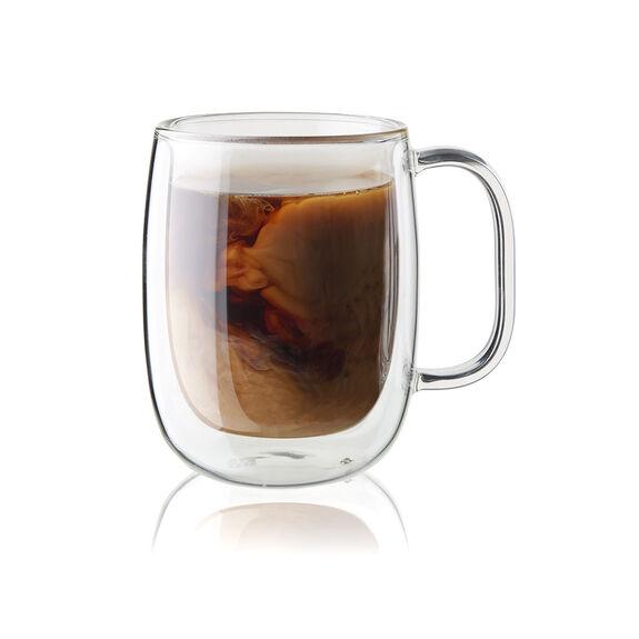 4-pc  Coffee glass set,,large 2