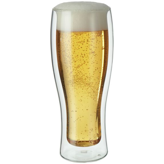 2-pc  Beer glass set,,large