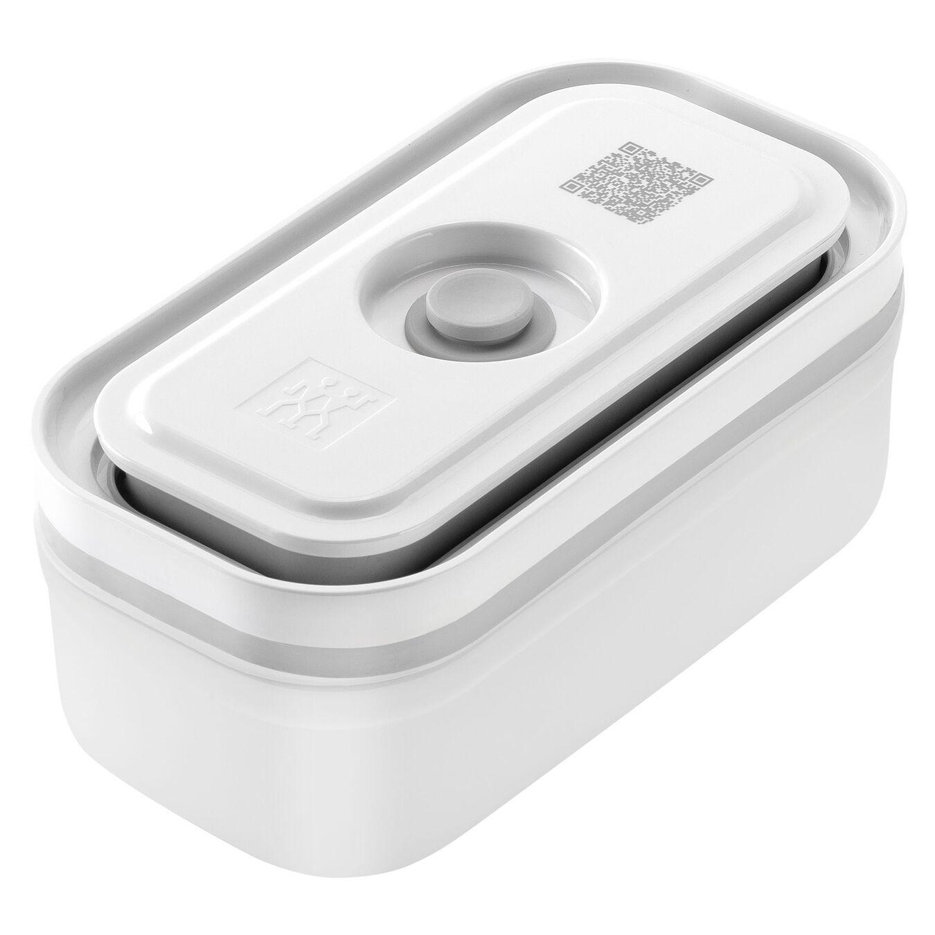 Vakuum box - S - Plast - Semitransparent-Grå,,large 1