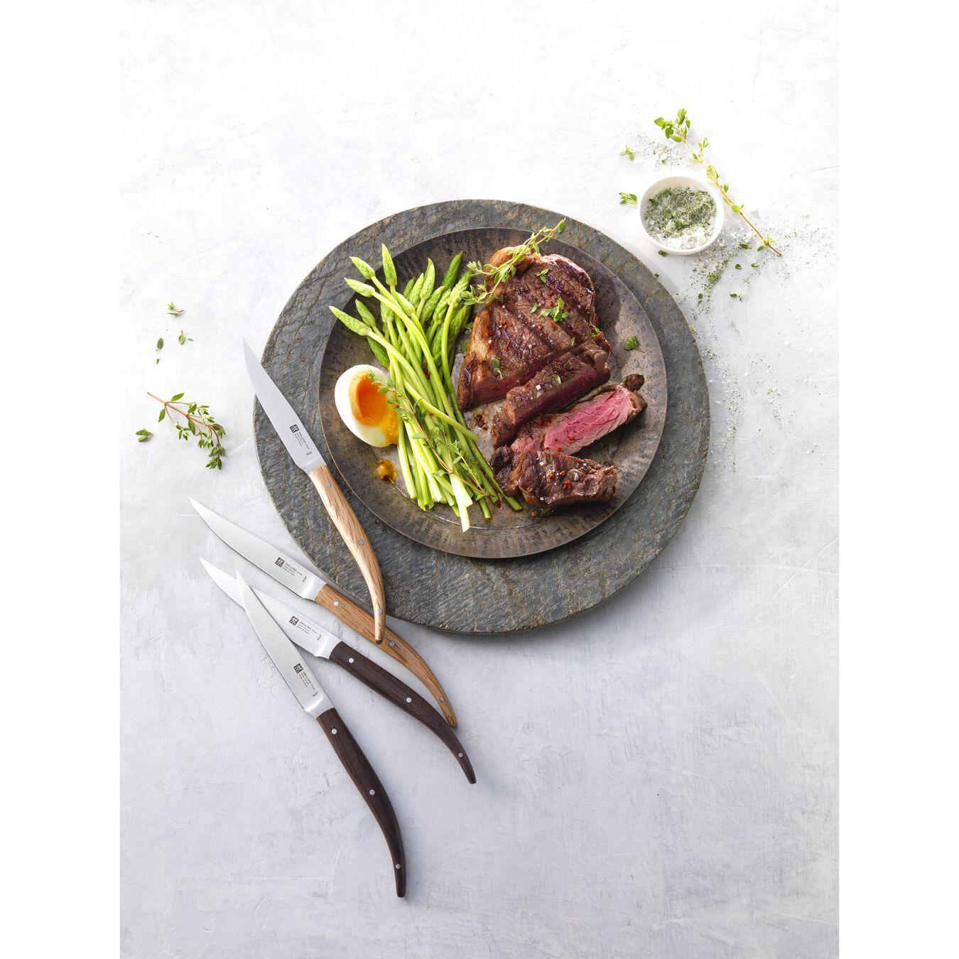 Biftek Bıçağı Seti | Paslanmaz Çelik | 4-parça,,large 2