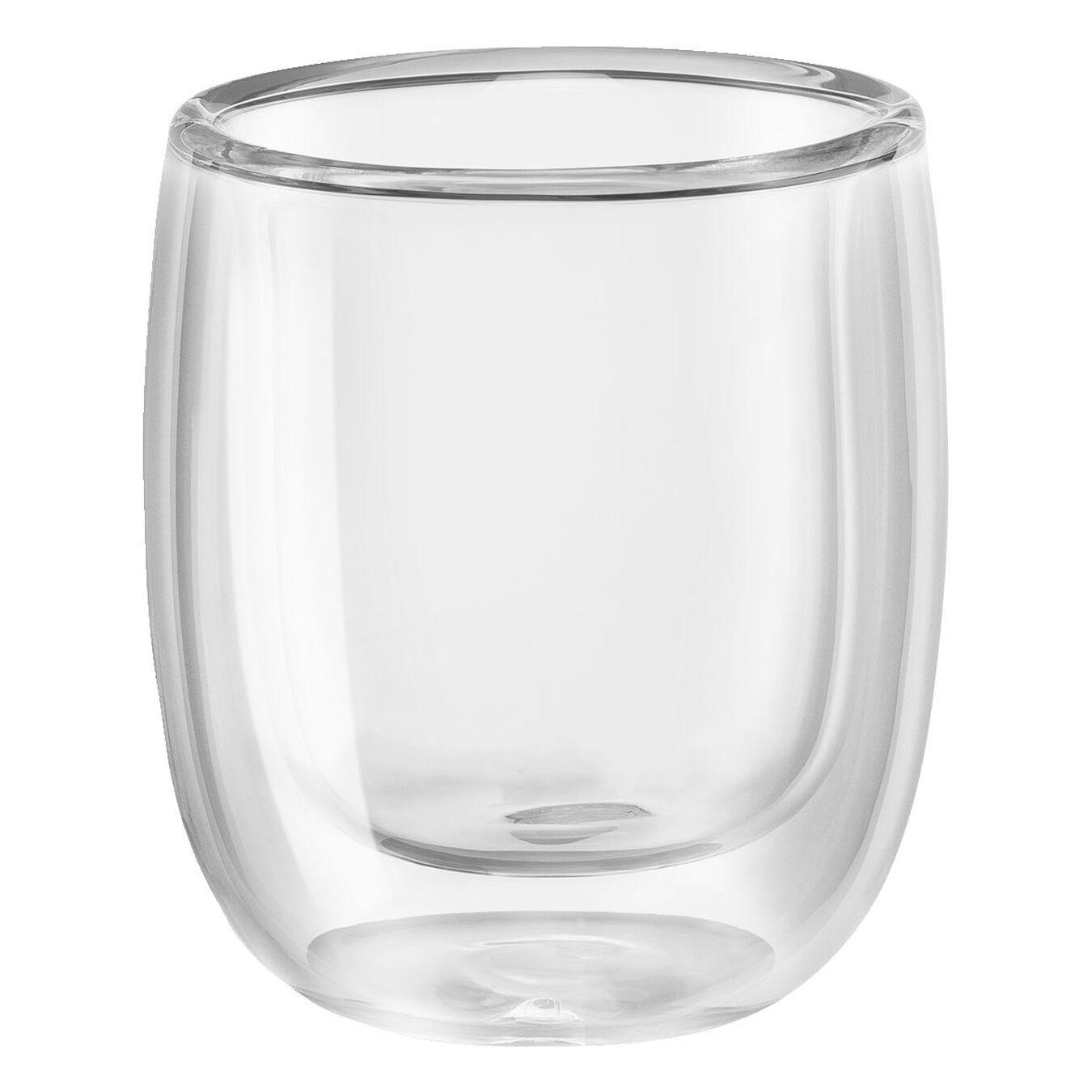 Service de verres à expresso à double paroi, 2-pces,,large 4