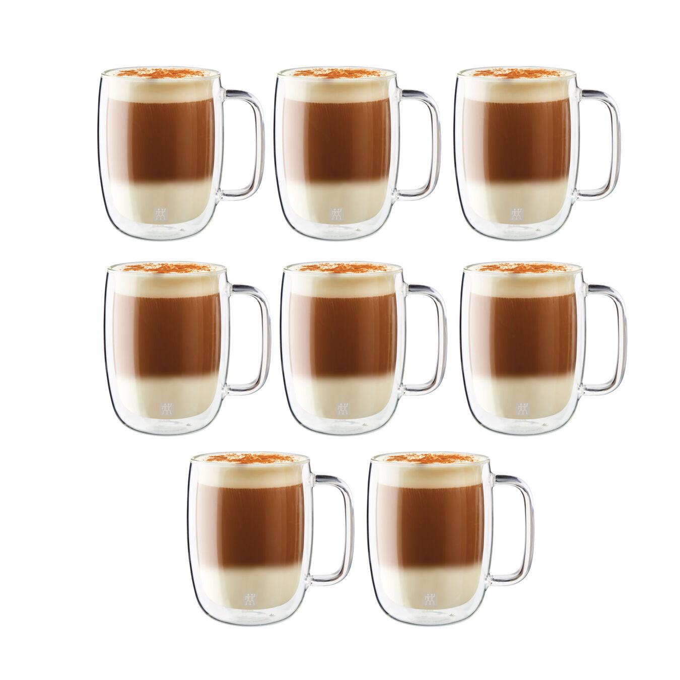 8 Piece Latte Mug Set - Value Pack,,large 2