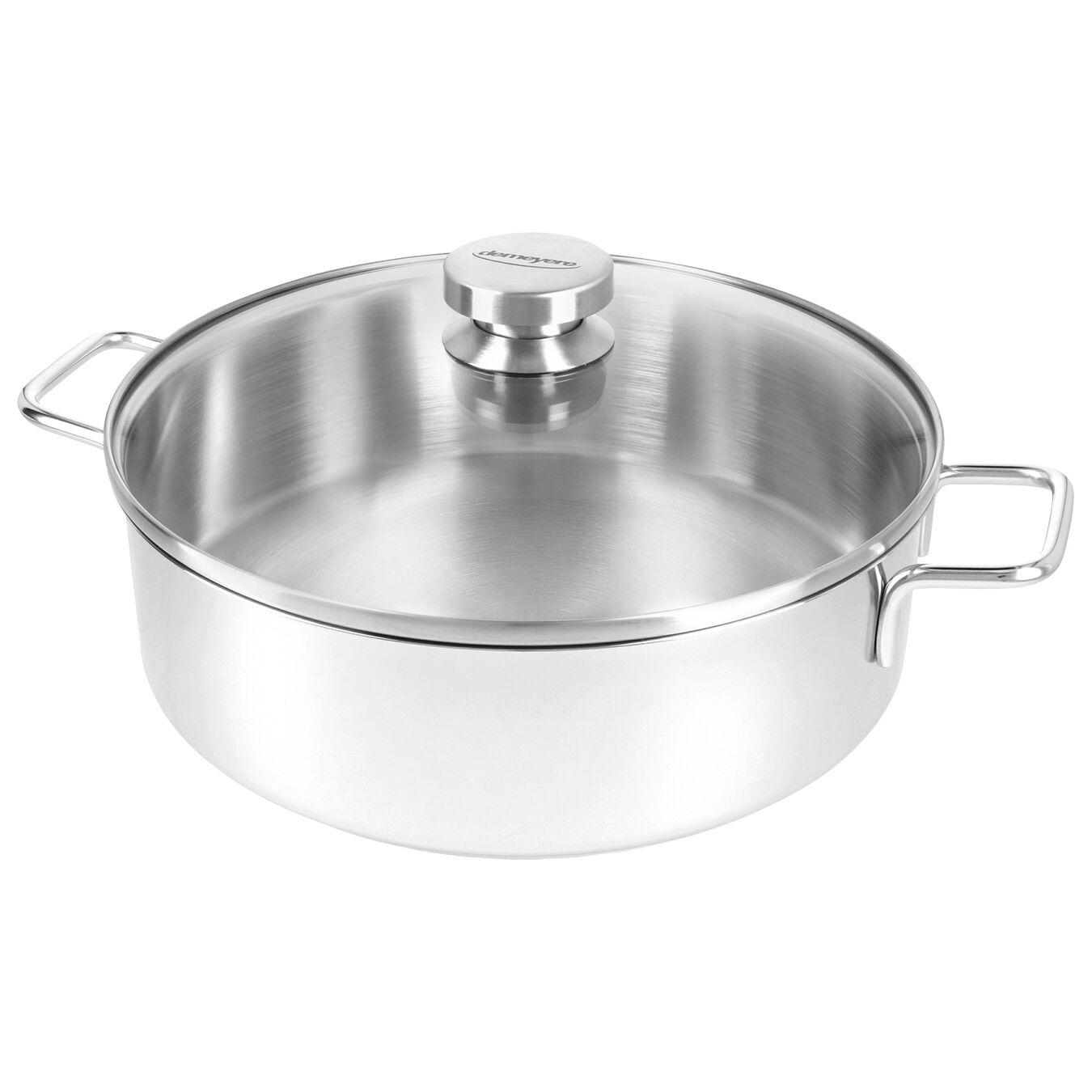 Kookpot met glazen deksel 24 cm / 2,8 l,,large 2
