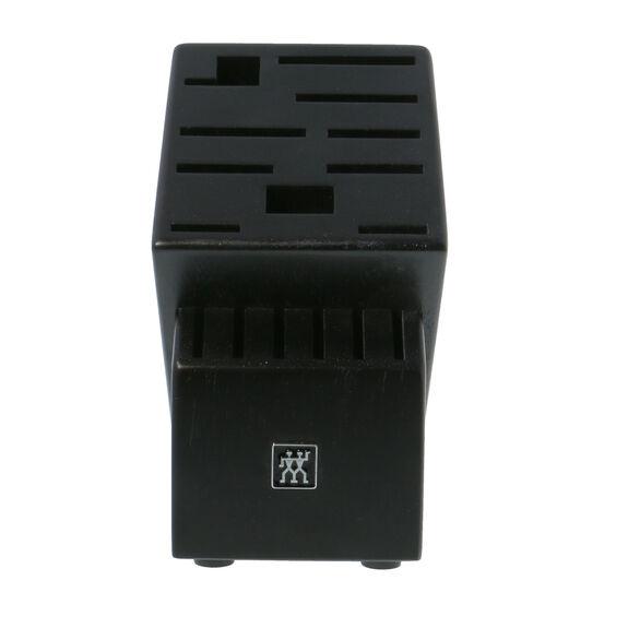 Rubberwood Black 16-slot block,,large 2